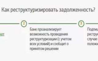 Образец и правила подачи заявления на реструктуризацию кредита в сбербанке