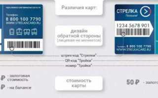 Программа лояльности для держателей карт «тройка»