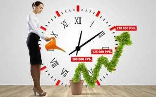 Накопительный счет «ценное время»