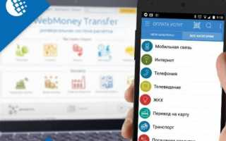 Способы обналичивания электронных денег с кошелька вебмани
